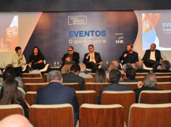 Seminário de Turismo com o tema tendências para o futuro dos eventos